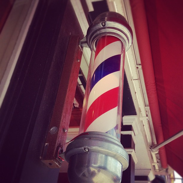 """Barbershop pole"" Featured Photography by Jenn Peters"